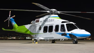 N863AH - Agusta-Westland AW-139 - Saudi Aramco Aviation