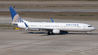 A picture of N34455 - Boeing 737924(ER) - United Airlines - © Yixin Chen