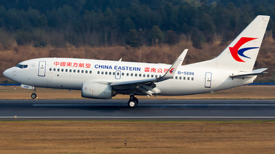 A picture of B5808 - Boeing 73779P - China Eastern Airlines - © SZ4509