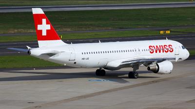 HB-IJQ - Airbus A320-214 - Swiss
