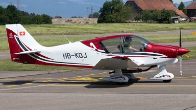 HB-KOJ - Robin DR401/160 - Private