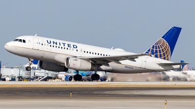 A picture of N814UA - Airbus A319131 - United Airlines - © Martin Pinnau