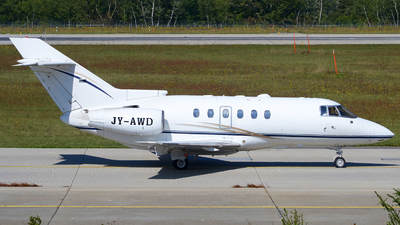 JY-AWD - Raytheon Hawker 800XP - Arab Wings