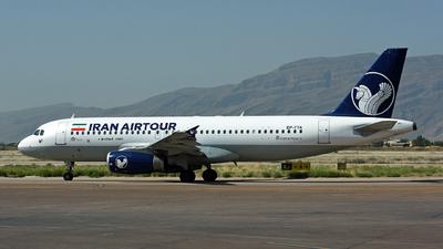 EP-TTA - Airbus A320-231 - Iran Air Tour