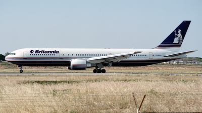 G-OBYB - Boeing 767-304(ER) - Britannia Airways