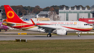 A picture of DAVWE - Airbus A319 - Airbus - © Dirk Grothe