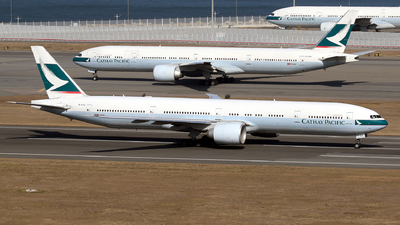 B-KPZ - Boeing 777-367ER - Cathay Pacific Airways