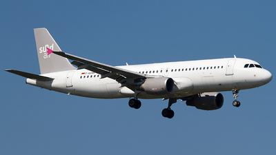 A picture of DASMR - Airbus A320214 - Sundair - © Andreas van den Berg