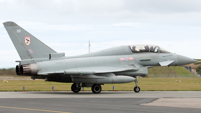 ZK379 - Eurofighter Typhoon T.3 - United Kingdom - Royal Air Force (RAF)