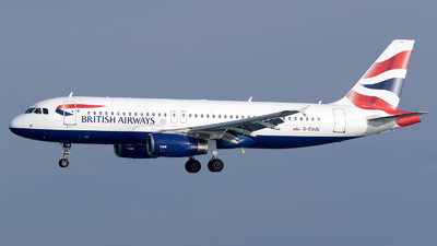 G-EUUU - Airbus A320-232 - British Airways