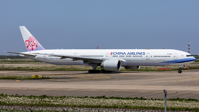 A picture of B18006 - Boeing 777309(ER) - China Airlines - © ZSNB-XHM