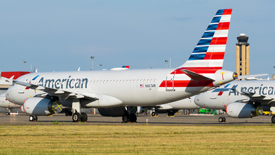 A picture of N667AW - Airbus A320232 - American Airlines - © Evan Dougherty