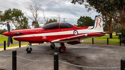A23-036 - Pilatus PC-9A - Australia - Royal Australian Air Force (RAAF)