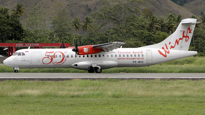 PK-WHG - ATR 72-212A(600) - Wings Air