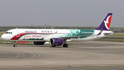 A picture of BMBQ - Airbus A321271NX - Air Macau - © Lixing Moo