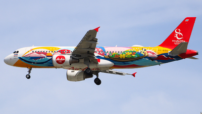 A picture of HSBBA - Airbus A320214 - AirAsia - © Will D