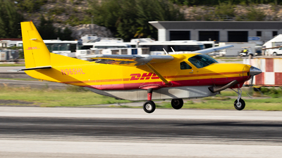 A picture of N965HL - Cessna 208B Super Cargomaster - DHL - © John Marzo
