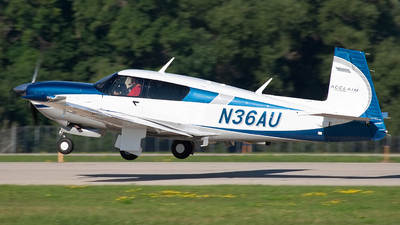 N36AU - Mooney M20V Acclaim Ultra - Private