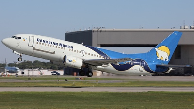 A picture of CGZCN - Boeing 73736N - Canadian North - © Hongyu Wang