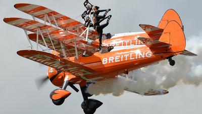 SE-BOG - Boeing PT-17 Kaydet - Breitling