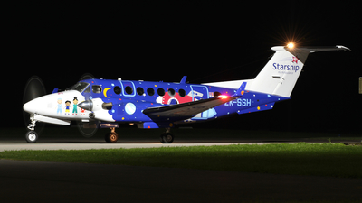 ZK-SSH - Beechcraft B300C King Air 350C - Starship Air Ambulance