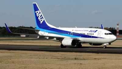 A picture of JA18AN - Boeing 737781 - All Nippon Airways - © NRT Spotter