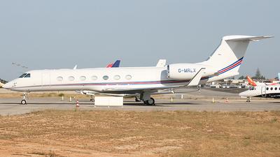 G-MRLX - Gulfstream G550 - Saxon Air