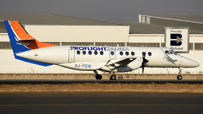 A picture of 9JPCW - BAe Jetstream 41 - Proflight Air Services - © ORTIASpotter