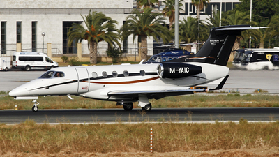 M-YAIC - Embraer 505 Phenom 300 - Private