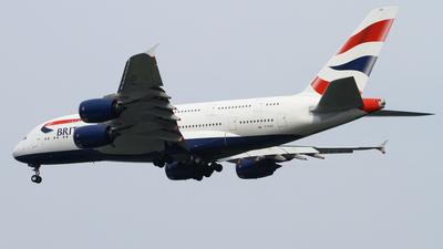 G-XLEG - Airbus A380-841 - British Airways