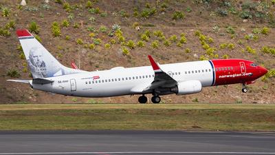A picture of SERRF - Boeing 7378JP - Norwegian - © Alex Maio