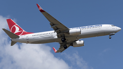 TC-JHB - Boeing 737-8F2 - Turkish Airlines