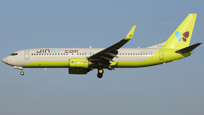 A picture of HL8016 - Boeing 7378SH - Jin Air - © REDSOX