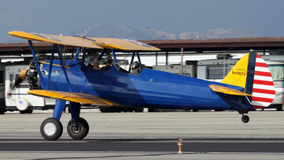 N4767V - Boeing E75 Stearman - Private