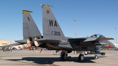 91-0305 - McDonnell Douglas F-15E Strike Eagle - United States - US Air Force (USAF)