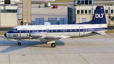 D-AHSD - Hawker Siddeley HS-748 Series 2B - DLT