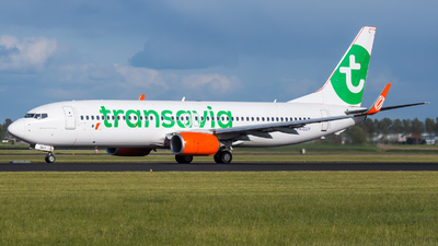 PH-GUY - Boeing 737-8EH - Transavia Airlines