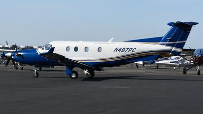 N497PC - Pilatus PC-12/45 - United States - US Department Of Homeland Security