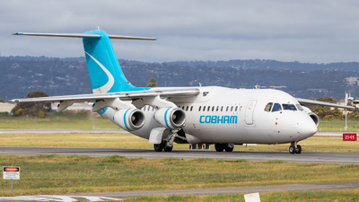 VH-NJE - British Aerospace Avro RJ100 - Cobham Aviation Services Australia