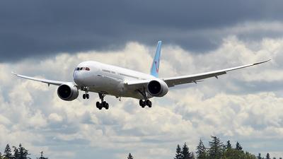 N1020K - Boeing 787-9 Dreamliner - Boeing Company