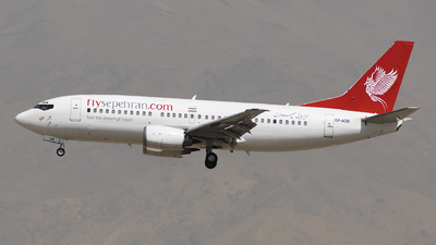 EP-AOB - Boeing 737-36N - Sepehran Airlines
