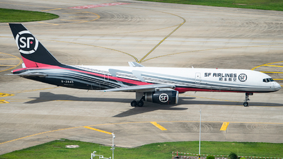A picture of B2845 - Boeing 7572Z0(PCF) - SF Airlines - © George Ma