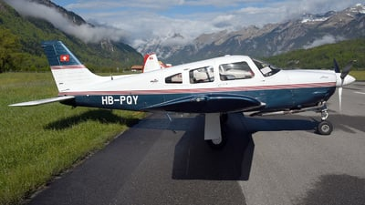 HB-PQY - Piper PA-28R-201 Arrow - Private