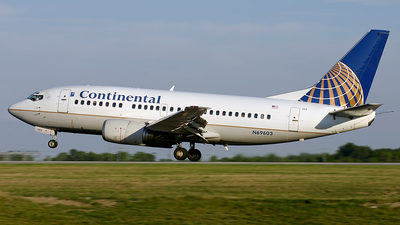 N69603 - Boeing 737-524 - Continental Airlines