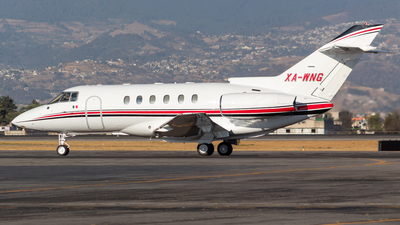 A picture of XAWNG - Hawker 800XP - [258397] - © Antonio Velasco Cruz