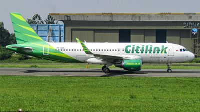 A picture of PKGQO - Airbus A320214 - Citilink - © Yusuf_mahawan