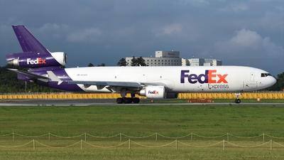 A picture of N615FE - McDonnell Douglas MD11F - FedEx - © Akihiko Takahashi