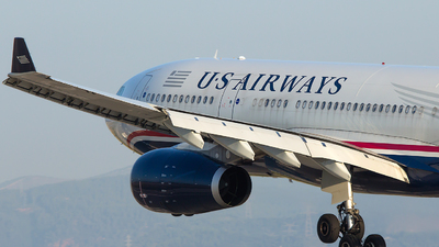 N288AY - Airbus A330-243 - US Airways