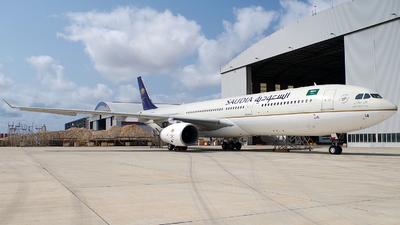 HZ-AQ14 - Airbus A330-343 - Saudi Arabian Airlines