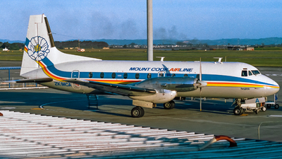 ZK-MCA - Hawker Siddeley HS-748 Series 2A - Mount Cook Airlines